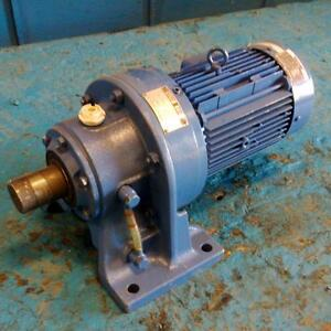 Sumitomo Induction Motor Tc Fv W 29 1 Ratio Cyclo Drive Chhm2 6130 Av 29 Ebay
