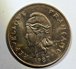 France MONNAIE, New Caledonia, 100 Francs, 1987, Paris, MO265