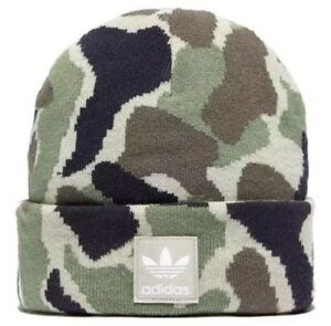 6a487fce Image is loading Bnwt-Adidas-Originals-Mens-Womens-Unisex-Camo-Trefoil-