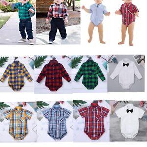 Baby-Boy-Gentleman-Outfits-Clothes-Newborn-Romper-Jumpsuit-Bodysuit-Formal-Shirt