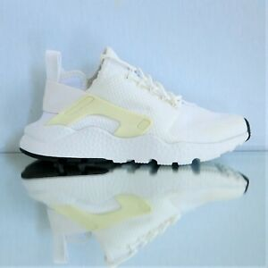 aab295f15900 NIKE Women s Air Huarache Run Ultra 819151-102 White Black sz 5.5 ...