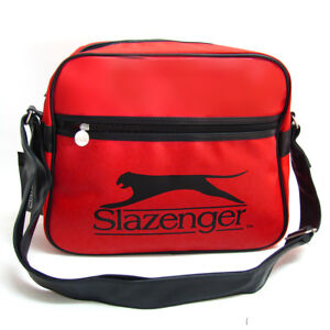 Slazenger-Messenger-Shoulder-School-Flight-Bag-SLAZGL7050a-red