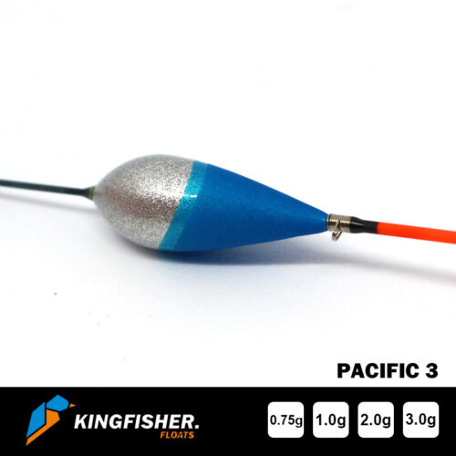 "POLE FISHING FLOATS The Kingfisher /""Pacific 3/"" Pack of 4 HIGH QUALITY"