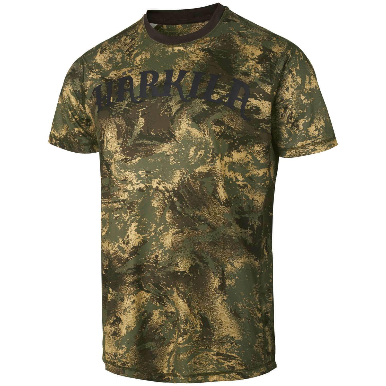 Härkila Lynx T-Shirt Axis MSP ® Forest Grün Hunting Mens Hunting Shirt Camo Camou