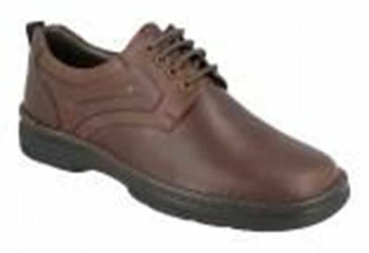 EasyB 87174B braun Mens Casual Comfort Lace Up Wide Fit schuhe