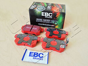 FOR-HONDA-CIVIC-TYPE-R-2-0-EP3-REAR-EBC-RED-STUFF-BRAKE-PAD-PADS-MADE-IN-ENGLAND