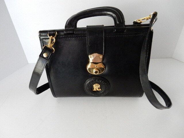 Black Rosenio Splendid Leather Purse