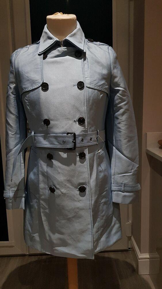 Nouveau Débardeur Superdry Trench-coat. Authentique. Medium. Bleu