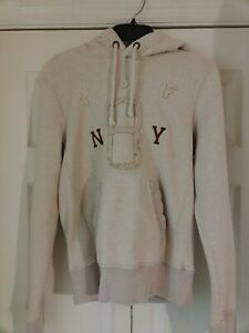 Abercrombie & Fitch Men's SMALL Muscle Fit Pullover Hoodie Heavy Weight EUC