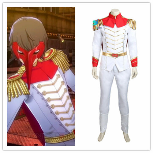 Persona 5 Goro Akechi Uniform Suit Cosplay Costume Custom Made