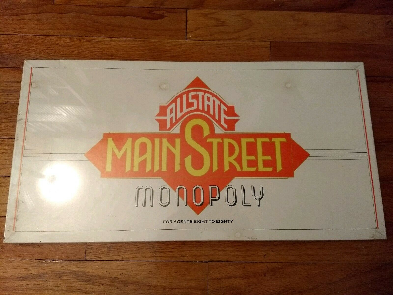 Allstate agent Mainstreet Monopoly Board Game NEW Sealed