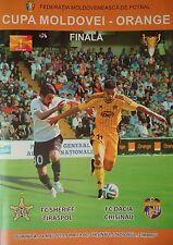 Programm Moldawien Cup Finale 24.5.2015 Sheriff Tiraspol - Dacia Chisinau