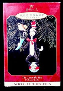 1999-Hallmark-The-Cat-in-the-Hat-Dr-Seuss-Books-1-in-the-Series-MIB
