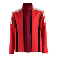 Doctor Brown Cosplay Who 6th Sixth Dr Colorful Lattice Stripe Costume Coat Party