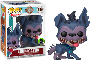 Exclusive-Chupacabra-Myths-FUNKO-Pop-Vinyl-New-in-Mint-Box-Protector
