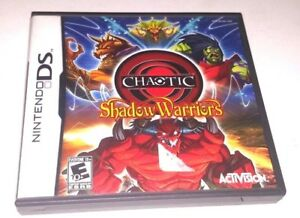 Nintendo-DS-Game-Complete-Dsi-Dsl-3DS-CHAOTIC-SHADOW-WARRIORS-Rare-RPG-Fun