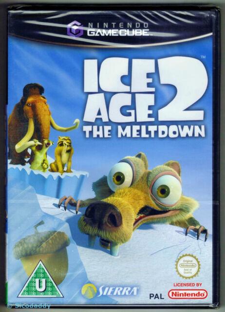 Gamecube Ice Age 2 The Meltdown, UK Pal, New Nintendo Factory Sealed
