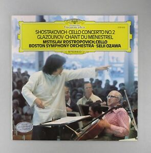 Details about Shostakovich - Cello Concerto No 2 - Ozawa - MINT UK 12