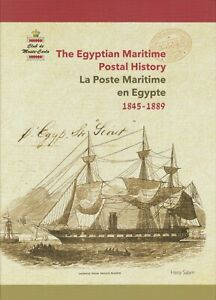 The-Egyptian-Maritime-Postal-History-by-Hany-Salam-Hardcover-New