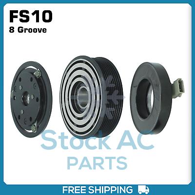 "A//C Compressor Clutch Assembly Fits Ford OEM FS10 Models PV6 5/"" CL-47867"