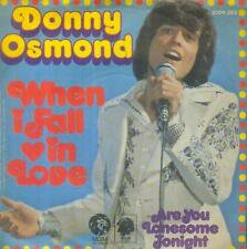 """7"""" Donny Osmond/When I Fall In Love (D)"""
