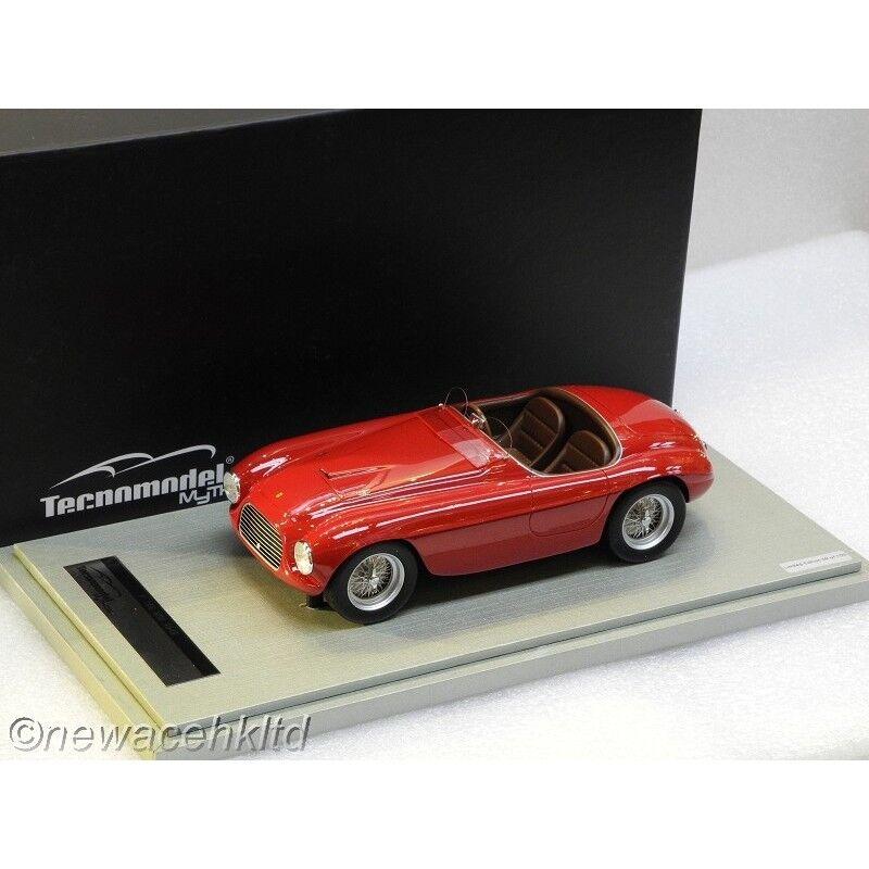 Ferrari 166 MM Press 1949 par TOURING SUPERLEGGERA Tecnomodel 1 18  TM18-52A