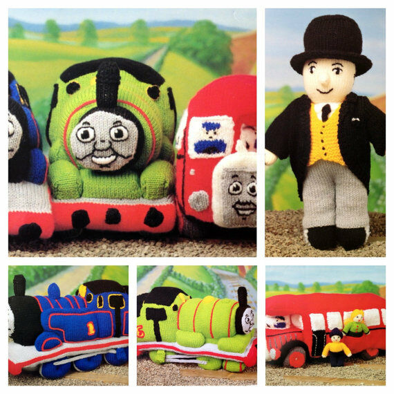 Thomas The Tank Engine And Friends Toy Dk Knitting Pattern Ebay