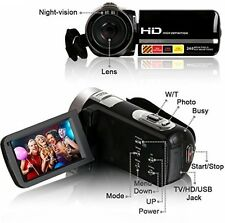 Video Camcorder, Besteker Portable HD 1080p IR Night Vision Max. 24.0 MP Camera