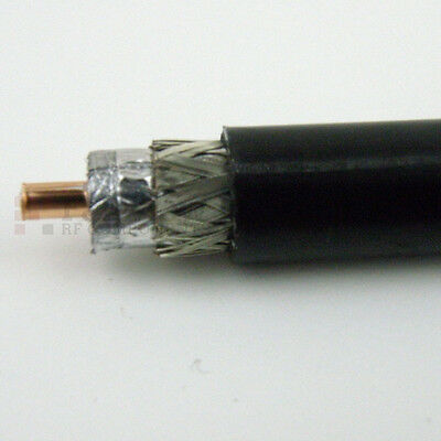 PL259 and NType connectors available 100/' Genuine Times Microwave LMR 400 cable
