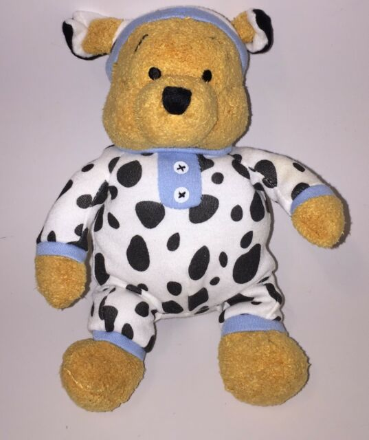 fd7193714b8f Disney Winnie The Pooh Bear in Pajamas Soft Stuffed Toy Stocking Stuffer