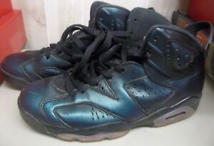 3bc6c326ef4509 JORDAN 6RETRO AS VI All Star Chameleon 907961-015 SIZE 10 Black ...