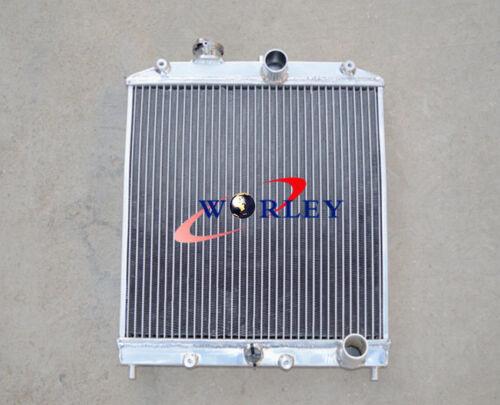 3 ROW 28MM PIPE Aluminum Radiator for 92-00 Honda Civic EK EG D15 D16