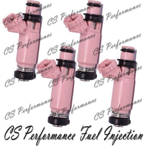 OEM Denso Fuel Injectors Set 195500-3910 Rebuilt /& Flow Matched in the USA! 4