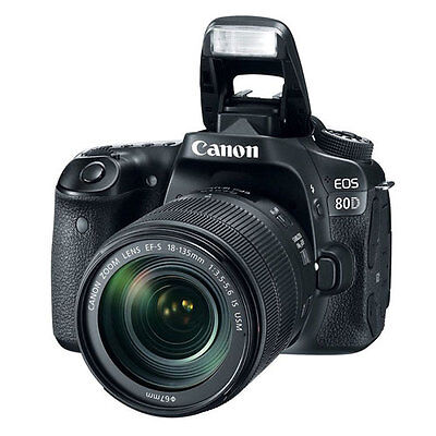 PaypalCanon EOS 80D 18-135mm IS USM DSLR