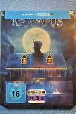 Krampus Steelbook Bluray GERMAN Edition * REGION B* New and Sealed