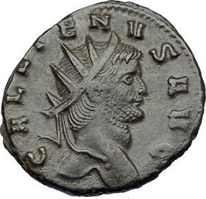 GALLIENUS-son-of-Valerian-I-267AD-Authentic-Ancient-Roman-Coin-GOAT-i65643