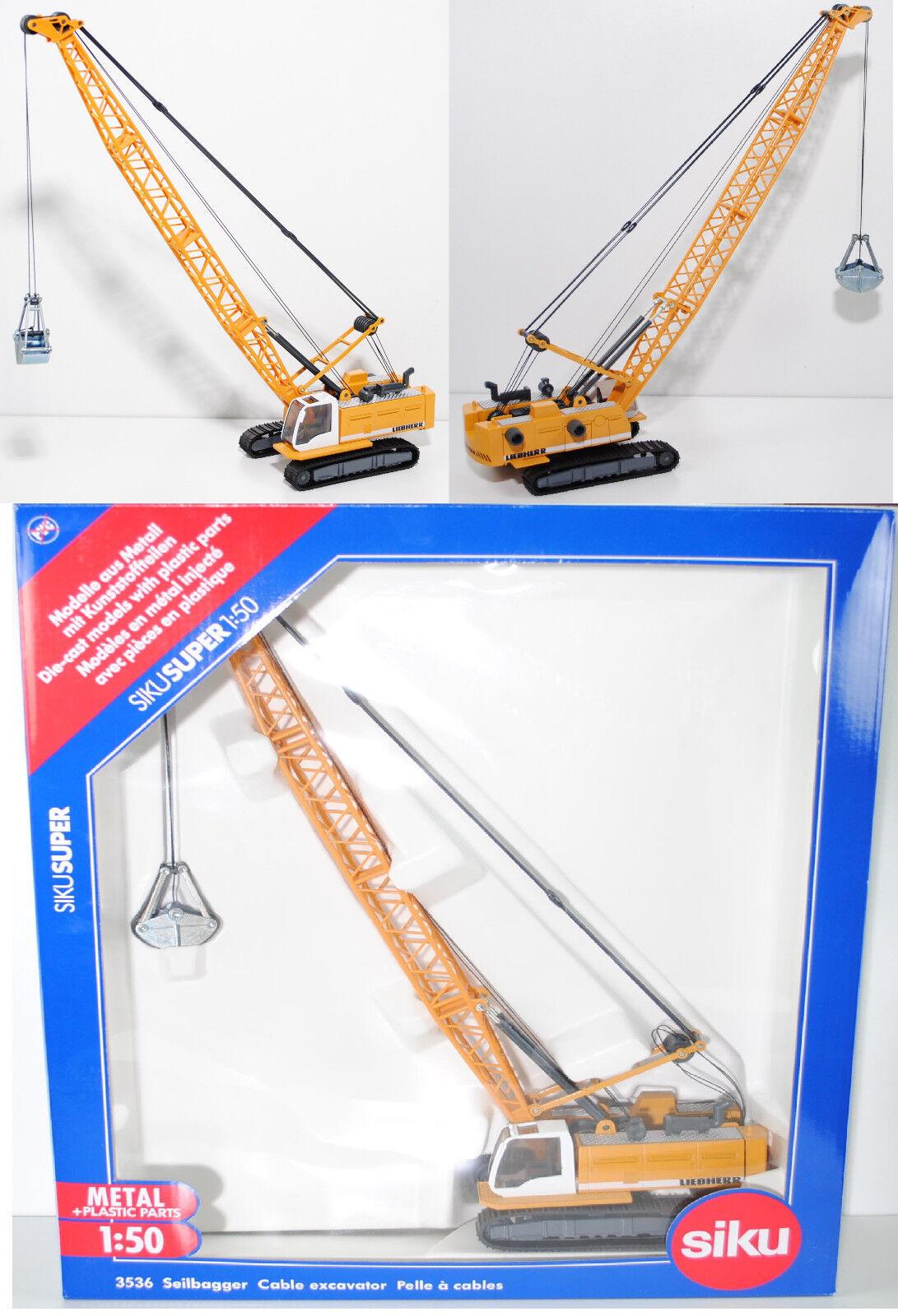 ventas al por mayor Siku súper 3536 Liebherr Hydro-seilbagger Hydro-seilbagger Hydro-seilbagger hs 835 HD litronic ®  mas barato