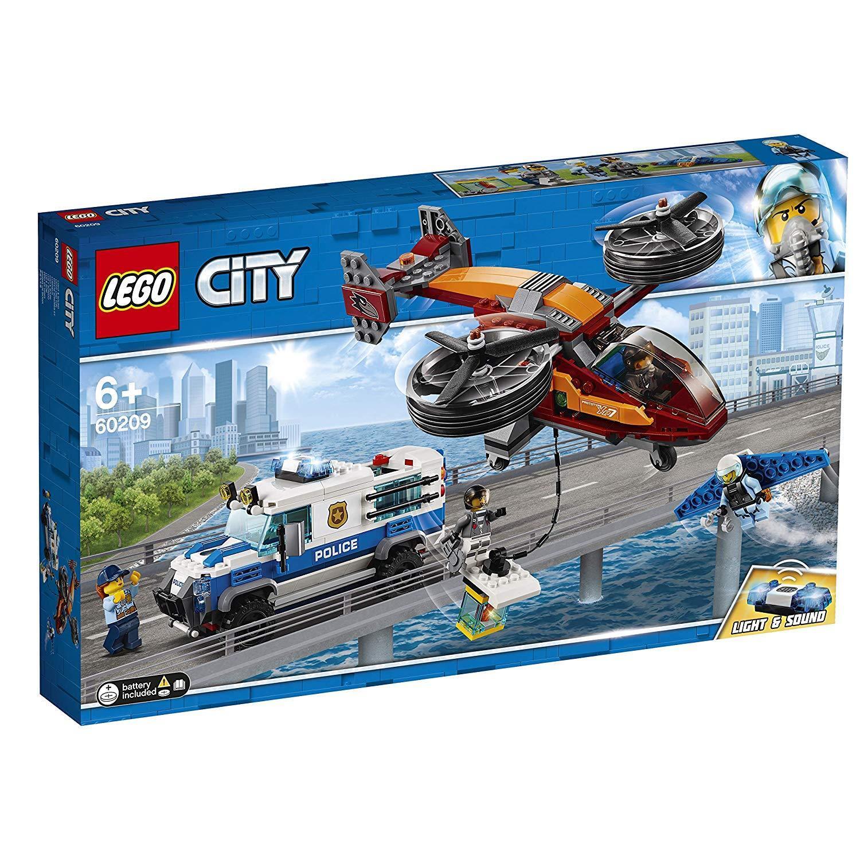 LEGO City 60209 Polizei Diamantenraub  NEUHEIT 2018 OVP,