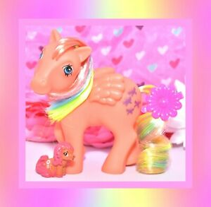 ❤️My Little Pony MLP G1 Vtg ITALY Italian Flutterbye Rainbow Pegasus NIRVANA❤️