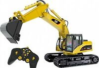 15 Channel Full Functional Professional Rc Excavator Battery Remote Construction