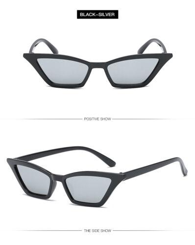 Fashion Women Cat Eye Sunglasses Small Vintage Glasses UV400 Eyewear Shades