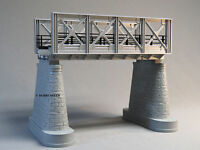 Mth Rail King Silver Girder Bridge W/support Pillars O Gauge Train Track 40-1102