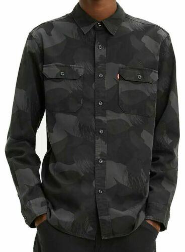 Details about  /Levis Printed Jackson Worker Shirt Mens Medium Pirate Black Camo $69