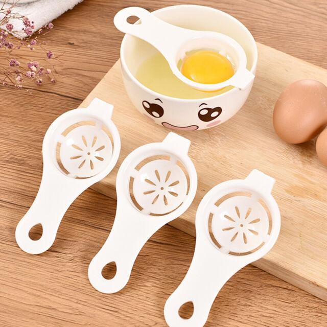 Egg White Yolk Separator Utensil Holder Divider Kitchen Seperater Tool Strainer
