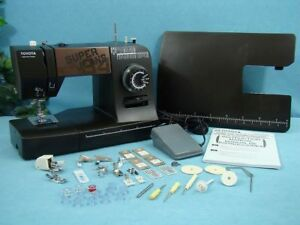 Heavy Duty Sewing Machine With Walking Foot Sews 1 4 Inch Leather