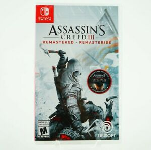 Assassin-039-s-Creed-III-Remastered-Nintendo-Switch-Brand-New