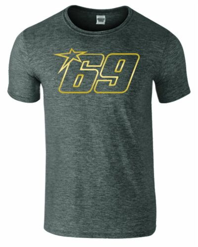 NICKY HAYDEN 69 Mens Tshirt MOTO GP Motorcycle Racing 2019 RIP Memories Top