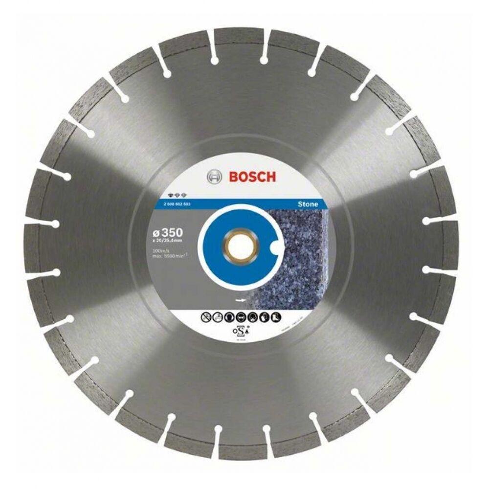 Bosch Diamanttrennscheibe Standard for Stone, 400 x 20,00 25,40 x 3,2 x 10 mm