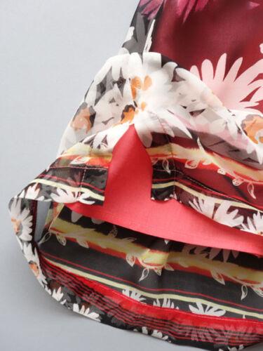 Adore La Vie Bohemian Style Daisy Print Silk Chiffon Baby and Toddler Dress