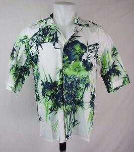 Diesel-S-Erlwi-Short-Sleeve-Print-Shirt-Size-M